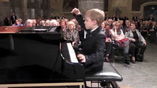 Philip Hahn (6y): Ludwig van Beethoven Sonata Nr 20 op 49 Nr 2