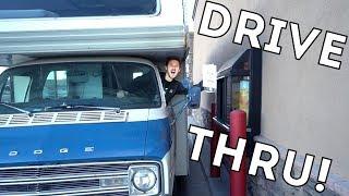 RV in the DRIVE THRU!