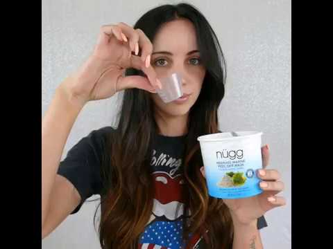 How to use: nügg Mermaid Marine Peel off Mask