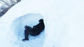 手ぶらで雪洞シェルター