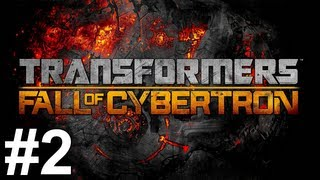 Transformers Fall of Cybertron Gameplay Walkthrough Part 2 No Commentary