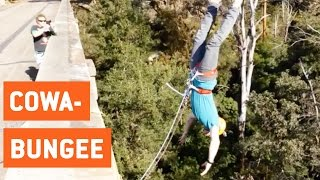 Insane Bungee Jumping | Adventure Time
