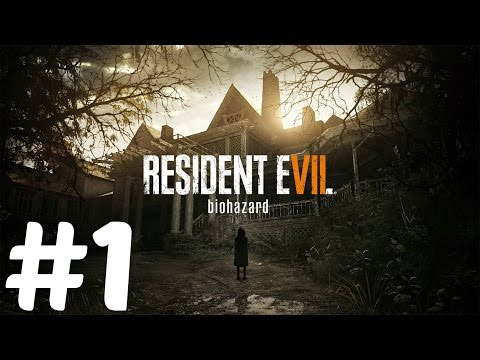 Let's Play Resident Evil 7 Part 1 (This Shit Is Fucking Crazy)