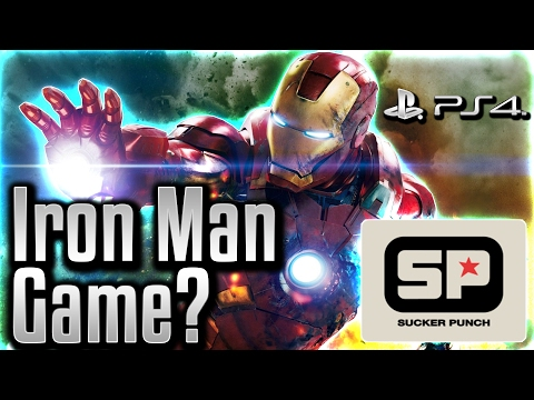 A Marvel IRON MAN PS4 Game?! Sucker Punch Developing Marvel Game?   How It Could Be Iron Man