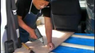 Repeat youtube video 伸和工業:新しい軽バンがきました~!棚作り初日