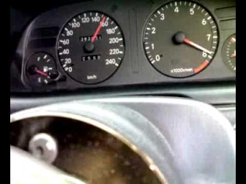 Test 4AGE 20V  0-180 km/h