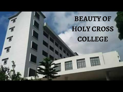 The beauty of Holy Cross College.