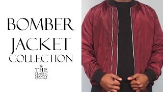 Bomber Jacket Collection | THECLASSICMANNY