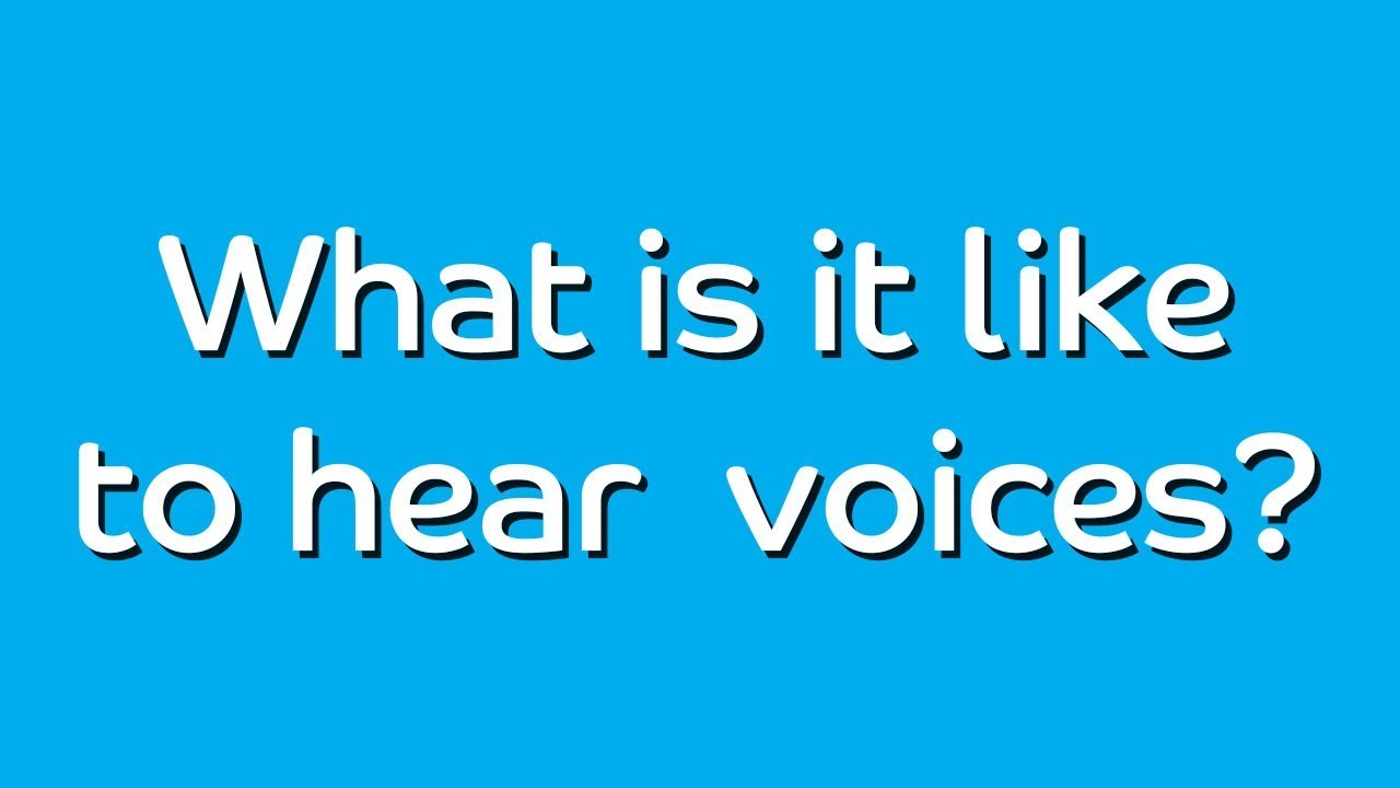 Download What's it like to hear voices?