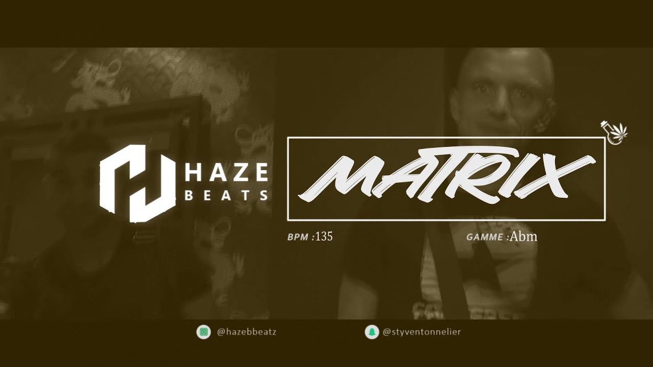 "Lacrim Type Beat "" Matrix "" Trap/Rap/Freestyle 2020 ( Prod by. Haze Beats )"
