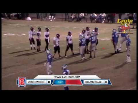 Chambers Academy vs. Springwood 10/27/16 (W 41-6)