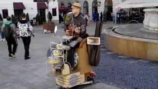 Человек оркестр. Словакия, Братислава
