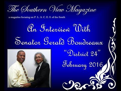 State Senator Gerald Boudreaux, District 24