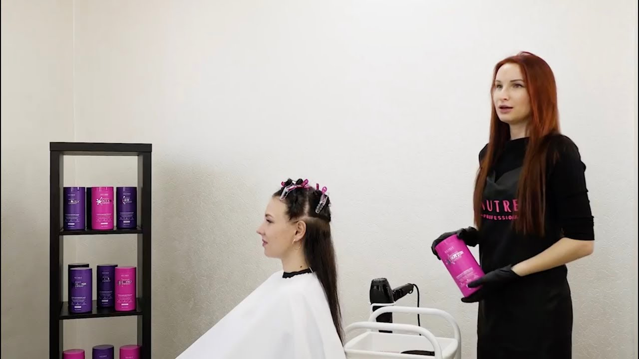 How To Apply Hair Botox At Salon Youtube