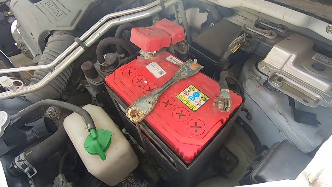 How to start car if battery down - YouTube