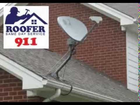 Satellite Dish Leak Repair 703 475 2446 Roofer911