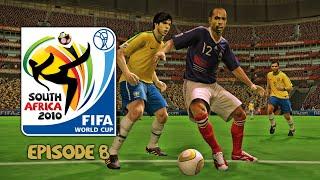 PES 2010 - FIFA World Cup 2010: Episode 8 - THE FINAL - FRANCE V BRAZIL!