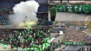 Green Brigade Celtic Away In Leipzig - Ultras Way✔