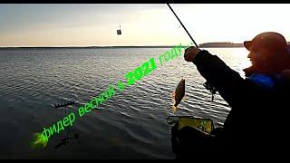 Рыбалка на фидер в 2021 году   открытие фидерного сезона