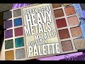First Impressions & Tutorial: Urban Decay Heavy Metals Metallic Eyeshadow Palette