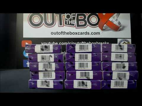 Out Of The Box Group Break #9455- 2019-20 UPPER DECK CLEAR CUT (15 BOX) CASE TEAM RANDOM