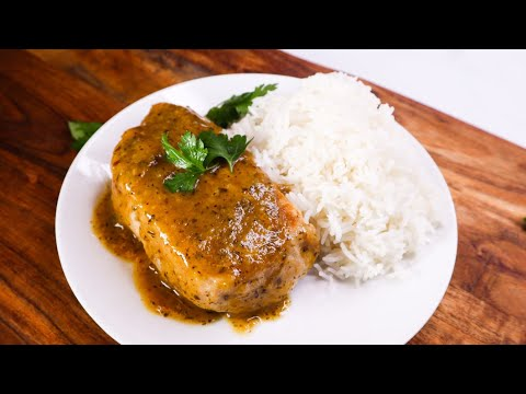 INSTANT POT Pork Chops And Rice | BUSY Work Week Dinner