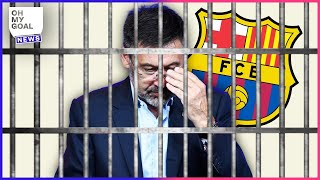 FC Barcelona raided, Bartomeu arrested: Barçagate throws the club into crisis | Oh My Goal