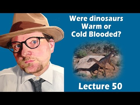 Were dinosaurs warm or cold blooded? Or something else?