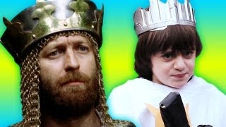 KIDS SWEDE MONTY PYTHON AND THE HOLY GRAIL -- (We Don