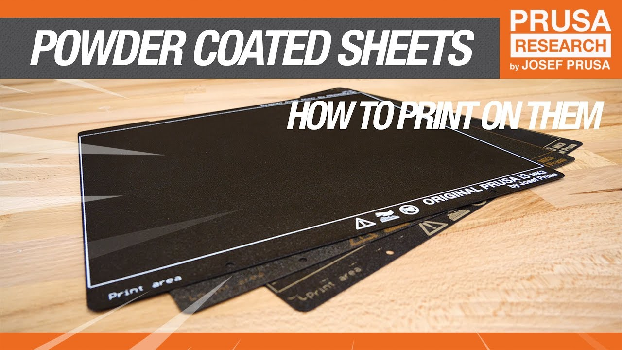 How to print on a powder-coated sheet - Prusa Printers