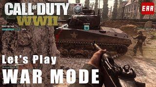 CoD:WWII  | マルチプレイヤー「ウォーモード」プレイ映像 - チームワークが重要な新モード | EAA thumbnail