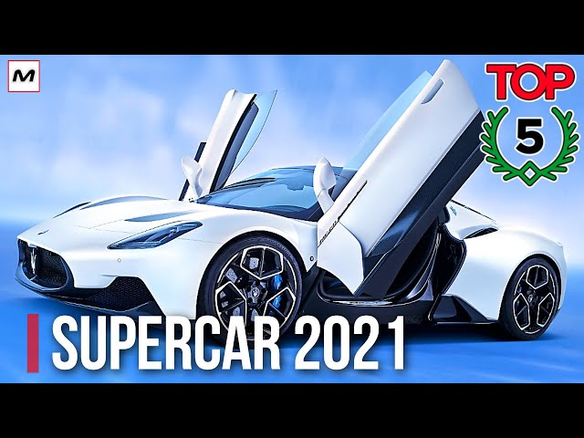 TOP 5 SUPERCAR: le più attese del 2021