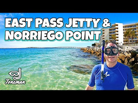 Snorkeling In Destin Florida | East Pass Jetty & Norriego Point