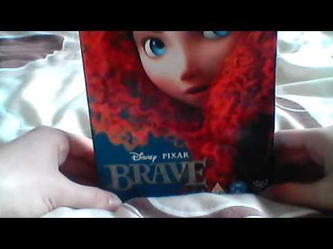 Brave UK DVD Unboxing