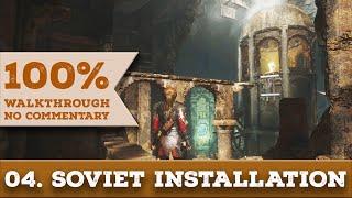 Rise of the Tomb Raider Walkthrough [1440p] (100% Completion, Survivor) part 4 SOVIET INSTALLATION