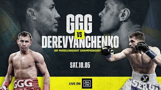 GGG vs. Derevyanchenko Announcement Press Conference