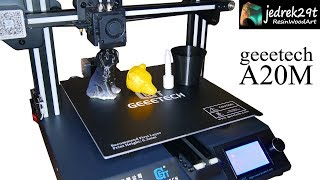 Geeetech A20M Mix-color 3D Printer / Unboxing and Printing