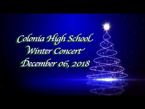 Colonia High School Winter: 2018