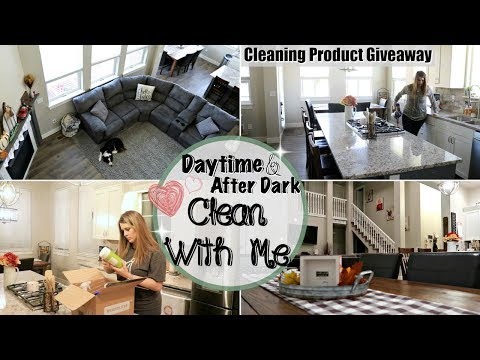 ULTIMATE CLEAN WITH ME 2018 :: DAYTIME & AFTER DARK CLEANING MOTIVATION :: SAHM CLEANING ROUTINE