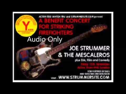 Joe Strummer / Mescaleros (with Mick Jones) Acton Town Hall 15-11-02 (Full Set Soundboard )