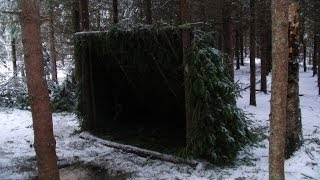 Long Term Survival Shelter. thumbnail