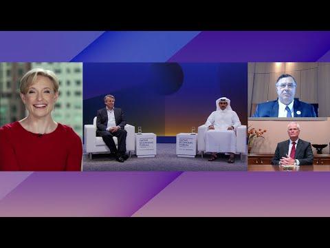 Exxon, Shell, TotalEnergies, Qatar Petroleum CEOs on Energy Shifts