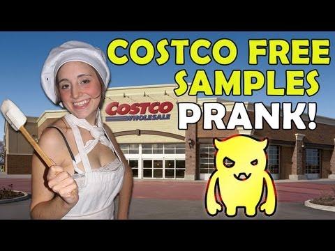Costco Free Samples Prank