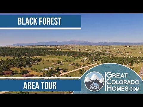 Black Forest in Colorado Springs, CO | Area Tour