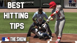 Best Hitting Tips + Home Run Tips MLB The Show 18 Hitting Tutorial