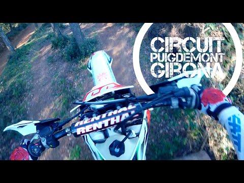 Enduro training Circuit Puigdemont Spain