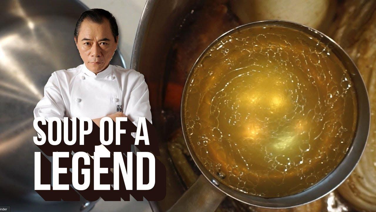 Making a LEGENDARY Shio Ramen Soup (Sano-san Recipe)