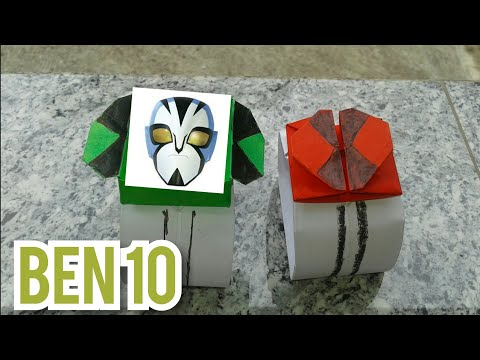 How to make Ben 10 Watch with paper