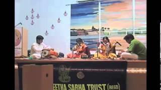 Parivadini Live- Iyer Sisters (Violin) Sarvani Sangeetha Sabha 20 Jan 2014