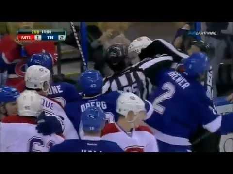 Alexei Emelin vs Ryan Malone - Full Incident (February 28, 2012)